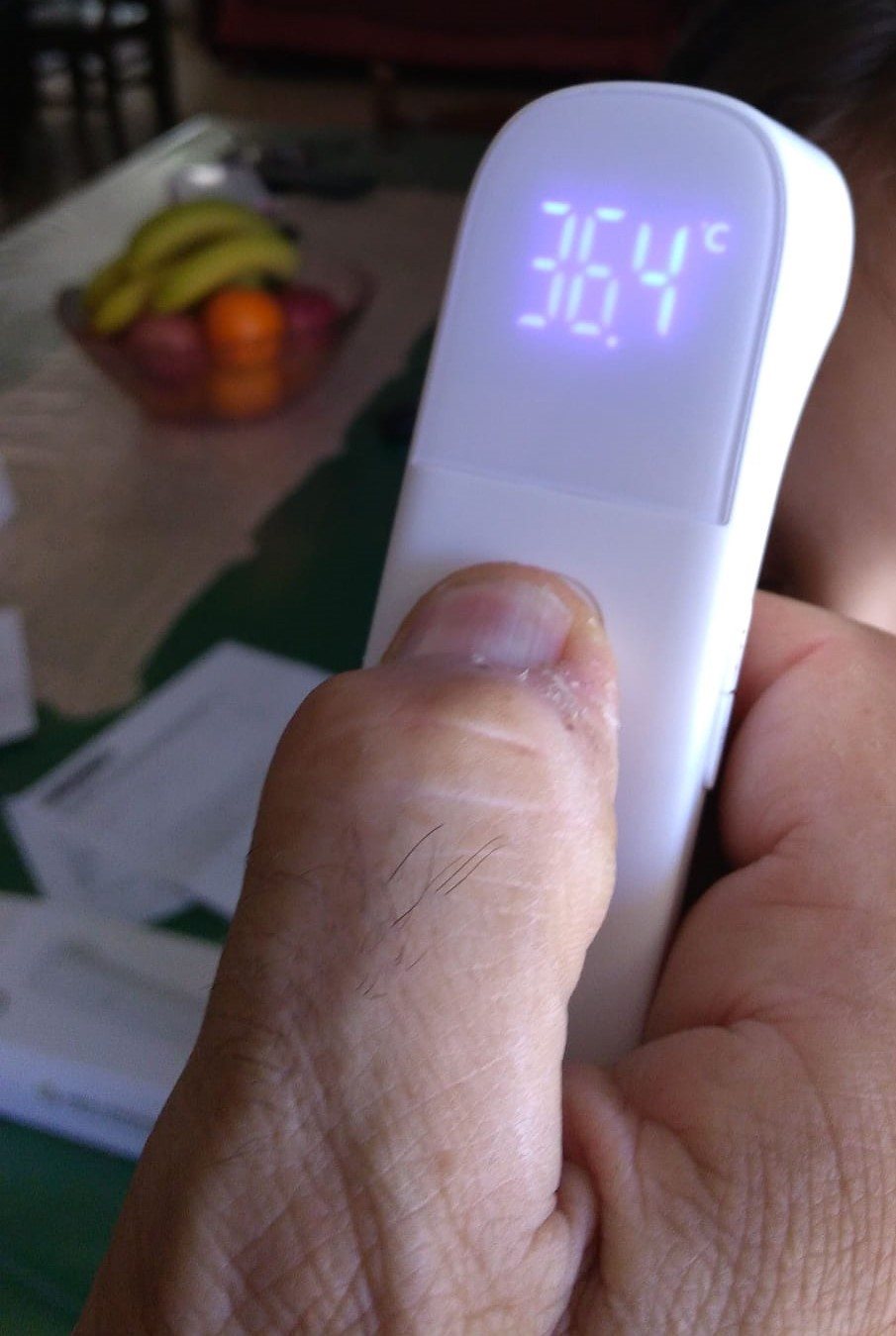 Termometro a Infrarosso Misurazione Temperatura Corporea – Termoscanner Emergenza COVID 19 Termometro Infrarosso Per Temperatura Corporea – Emergenza Covid – Prezzo Shock Euro 38,00- IVA INCLUSA